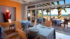 Cuisine française et italienne avec une qualité supérieure à l'Hôtel Elba Estepona