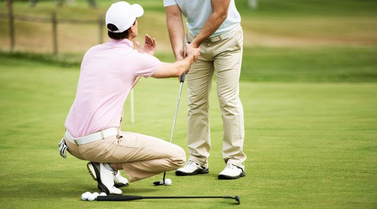 Jugadores golf Elba Sara