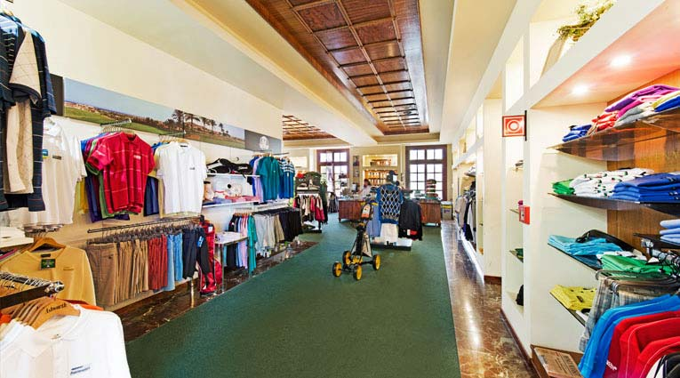 Pro shop Boutique de golf