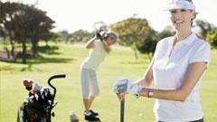 Jugadoras de golf