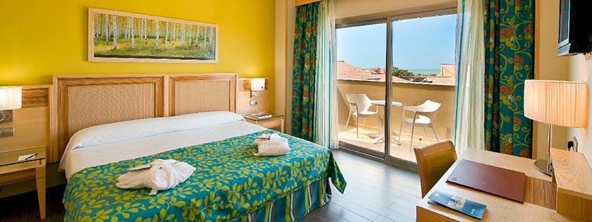 Habitación de la Sherry Suite en Elba Costa Ballena