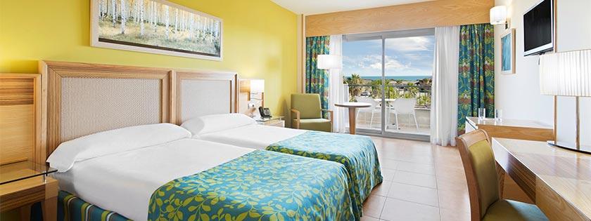 Habitaciones elba costa ballena beach thalasso resort for Habitaciones comunicadas