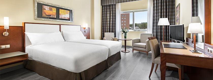 Habitación Doble Hotel Elba Almería