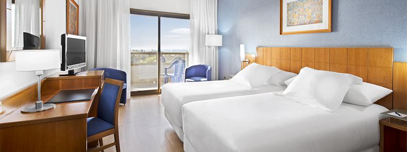 Habitación doble Hotel Elba Vecindario
