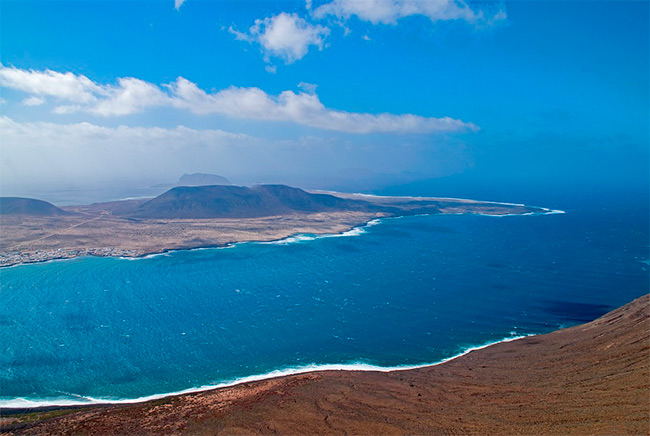 Did you know that Lanzarote is a volcanic island?