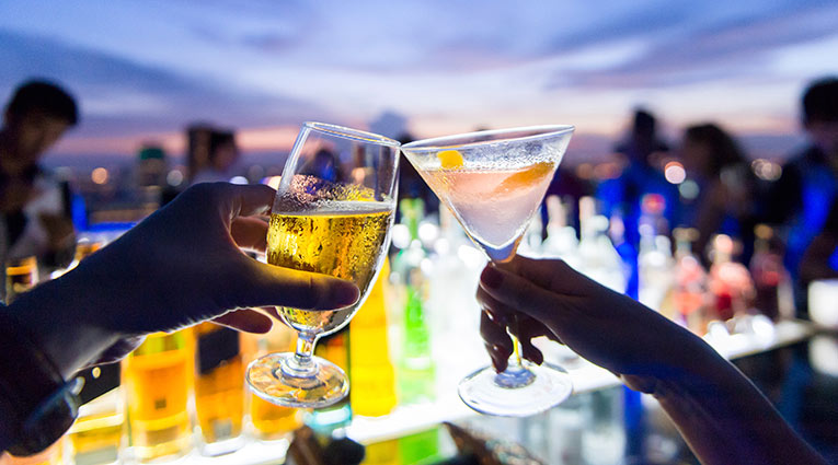 Madrid Nightlife Drinks
