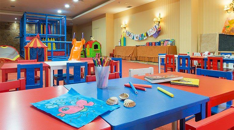 Zona de juegos del Miniclub | Hotel Elba Estepona