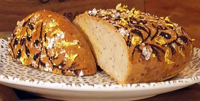 ¿Quieres saber cómo es el pan más caro del mundo realizado con Oro y Plata?...