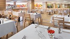 Buffets für das Frühstück, Mittagessen und Abendessen Restaurant Yaiza | Elba Lanzarote Royal Village