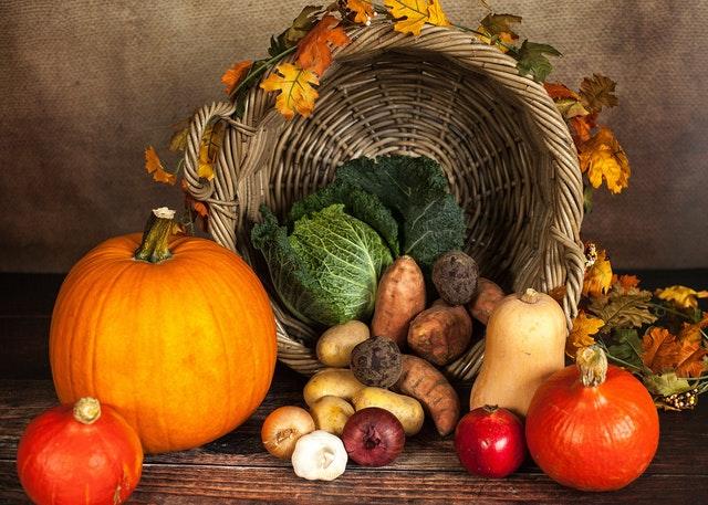 Los manjares del otoño