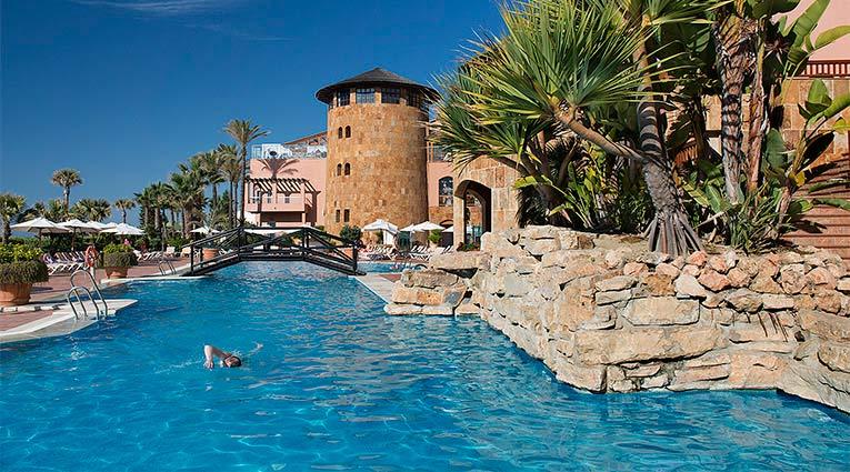 Piscina Exterior Hotel Elba Estepona