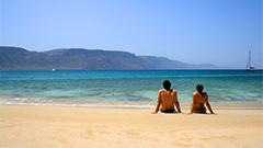 Visitantes disfrutando de las Playas de Lanzarote