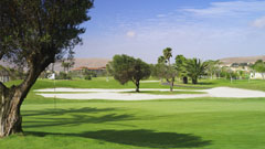 Vista del campo de golf