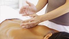 Aplicando tratamiento spa