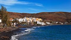 Vista de la bahía de fuerteventura
