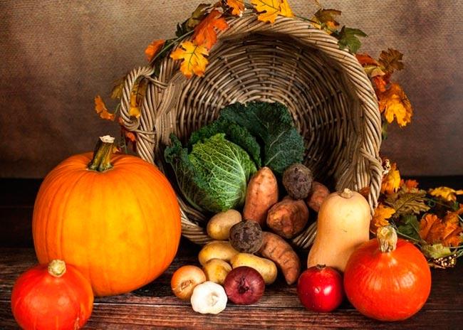 Autumn delicacies
