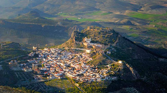 Enjoy a bird's eye view of Salobreña
