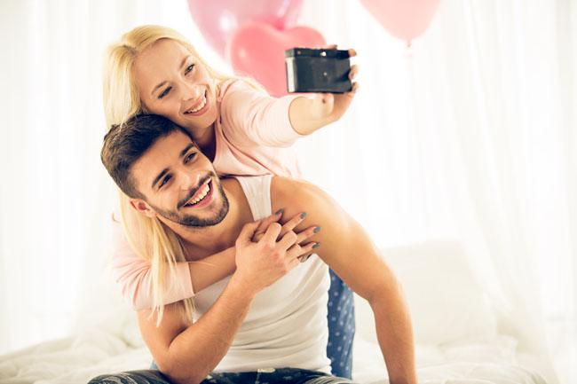 La celebración de San Valentín