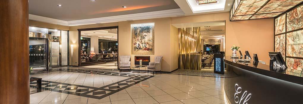 Vista general recepción del hotel