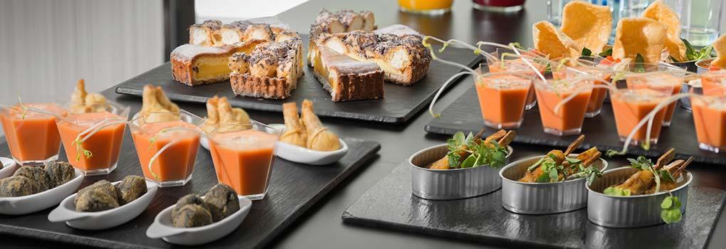 Gastronomía hotel Elba Madrid