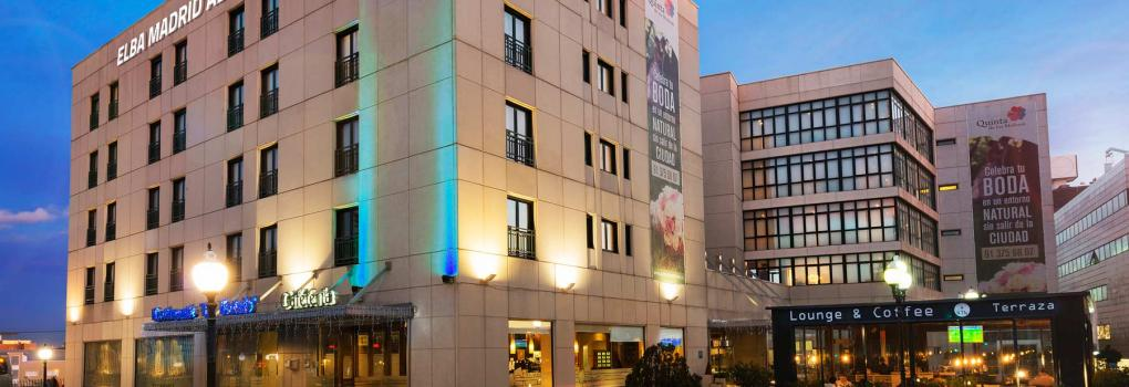 Fachada Hotel Elba Madrid Alcalá