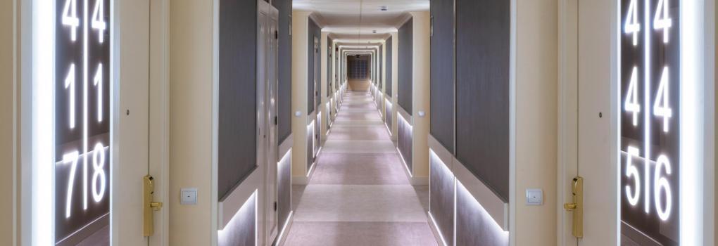 Atractivo y moderno Hotel en Madrid