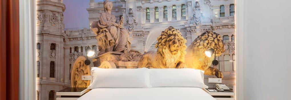 Cibeles más cerca de ti en el Hotel Elba Madrid
