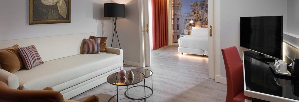 Suites que enamoran en el Hotel eElba Madrid
