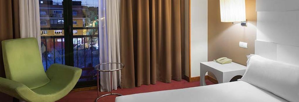 Vista desde la habitación Hotel Elba Madrid Alcalá