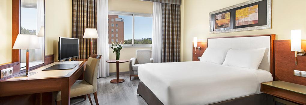 Habitación Doble para uso individual Hotel Elba Almería