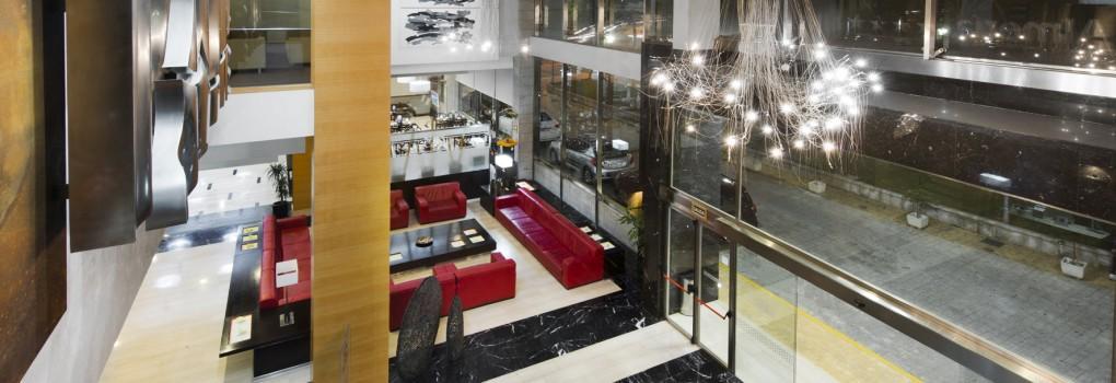 Lobby Hotel Elba Almería