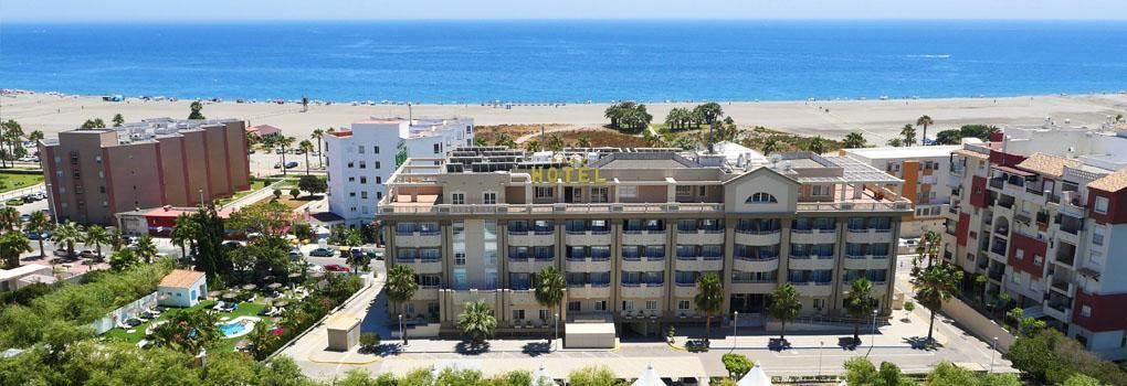 Preciosas vistas al Mar desde el Hotel Elba Motril