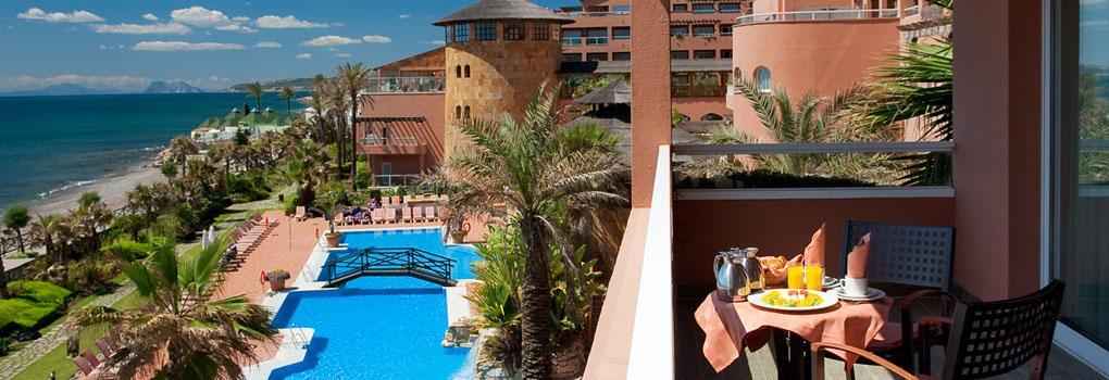 Terraza con vista al Mar | Elba Estepona & Thalasso Spa