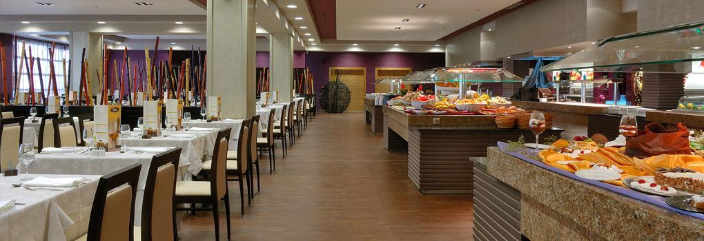 Vista restaurante buffet Tindaya
