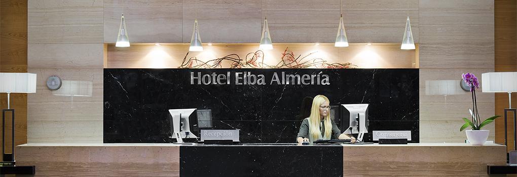 Recepción Hotel Elba Almería