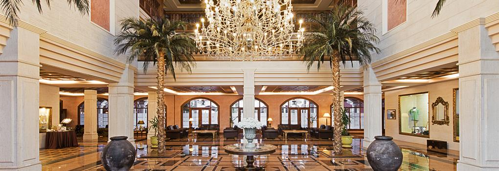 Élégante réception de l'Hôtel Elba Palace Golf à Fuerteventura