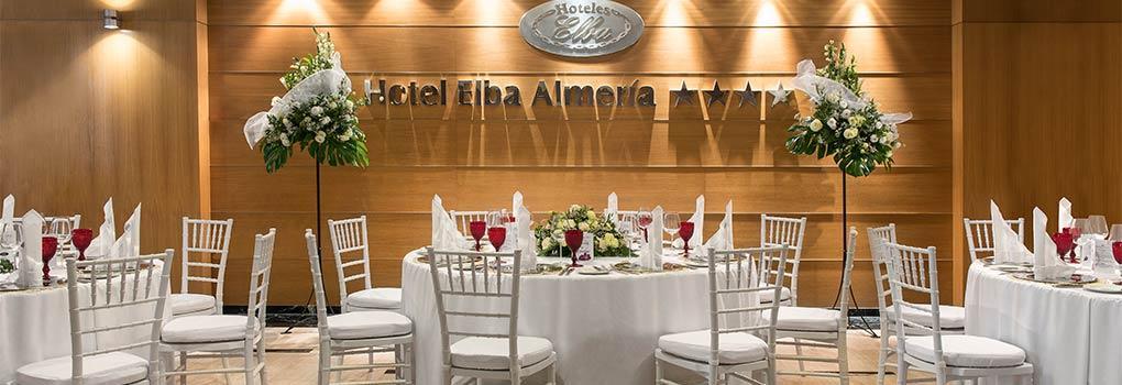 Salones para Bodas Hotel Elba Almeria