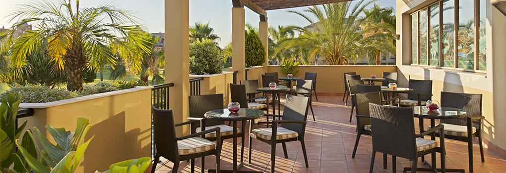 Terraza del Lobby Bar | Hotel Elba Costa Ballena