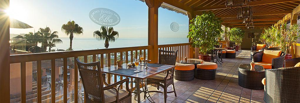 Terraza del Lobby Bar | Hotel Elba Estepona