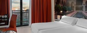 Moderna y confortable habitación