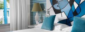 Detalle cama suite Yaiza Elba Lanzarote