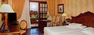 Habitación doble con magníficas vistas al campo en Elba Palace
