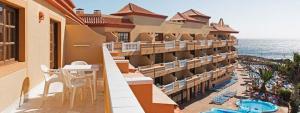 Magnifica terraza de apartamento con vista al Mar en Elba Castillo San Jorge Antigua