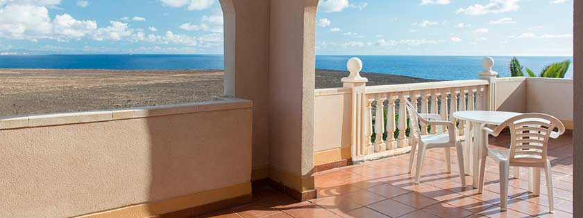 Terraza con vistas al Mar - Elba Lucía Suite Hotel