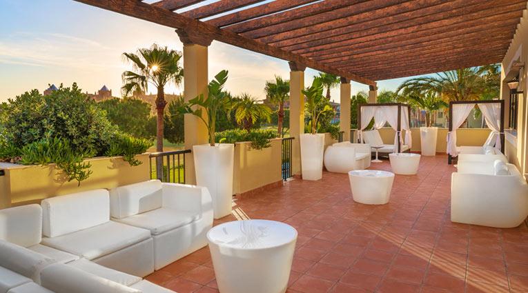 Terraza Hotel Elba Costa Ballena