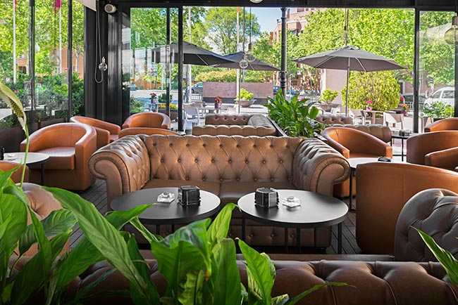 Lounge bar Terraza Elba Madrid Alcalá