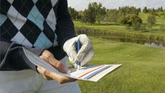 Detalle Jugador de golf