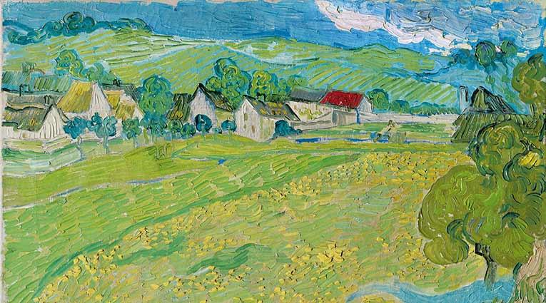 Vincent van Gogh, Les Vessenots en Auvers, 1890. Museo Thyssen-Bornemisza