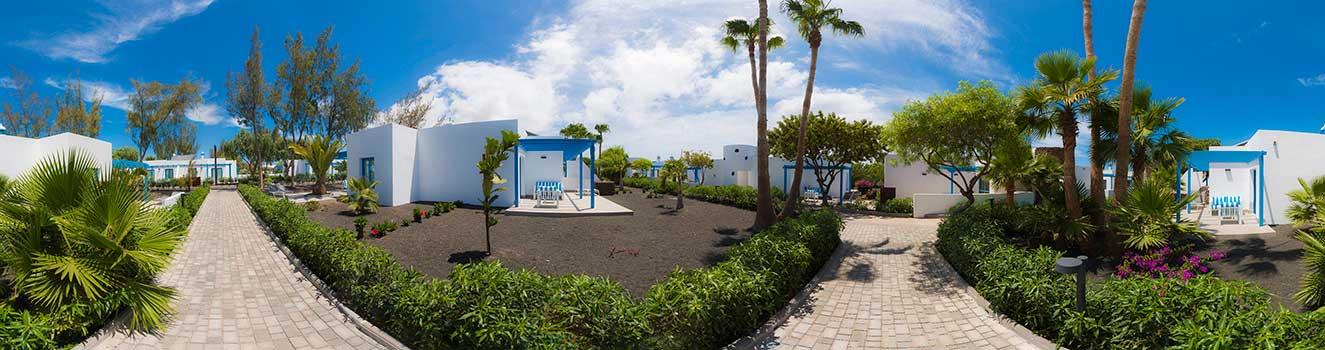 Vista 360 jardines Elba Lanzarote