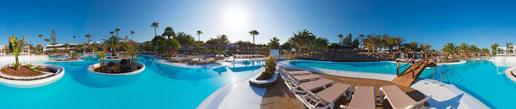 Vista 360 piscina Elba Lanzarote